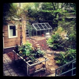 De tuin van SLA